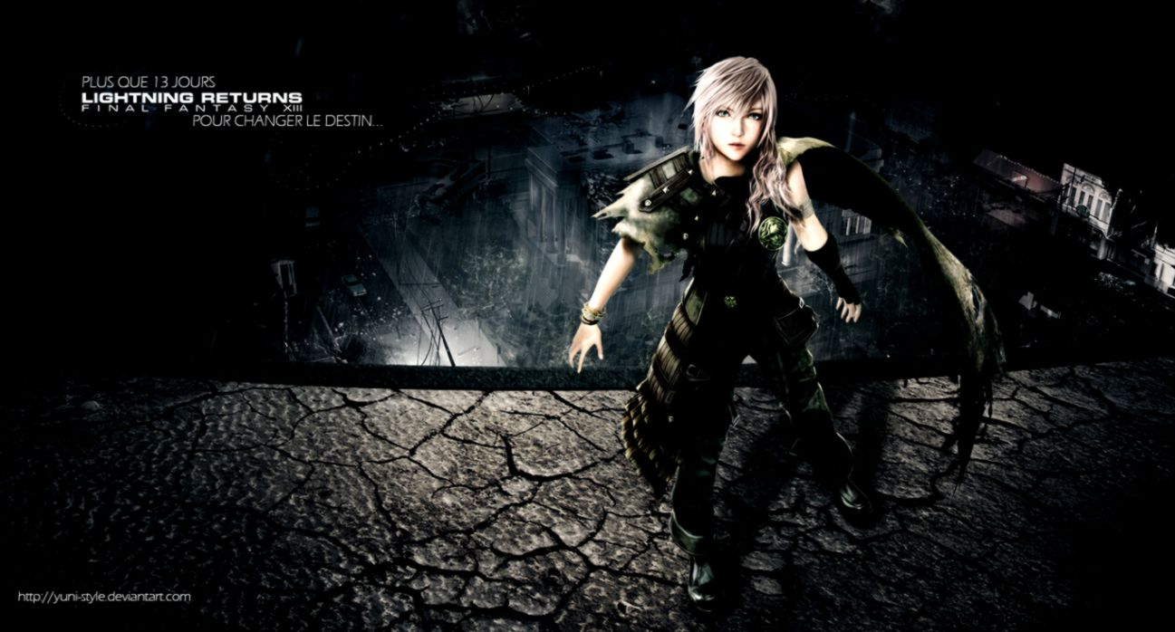 Final Fantasy Lightning Returns Hd Wallpaper Gallery
