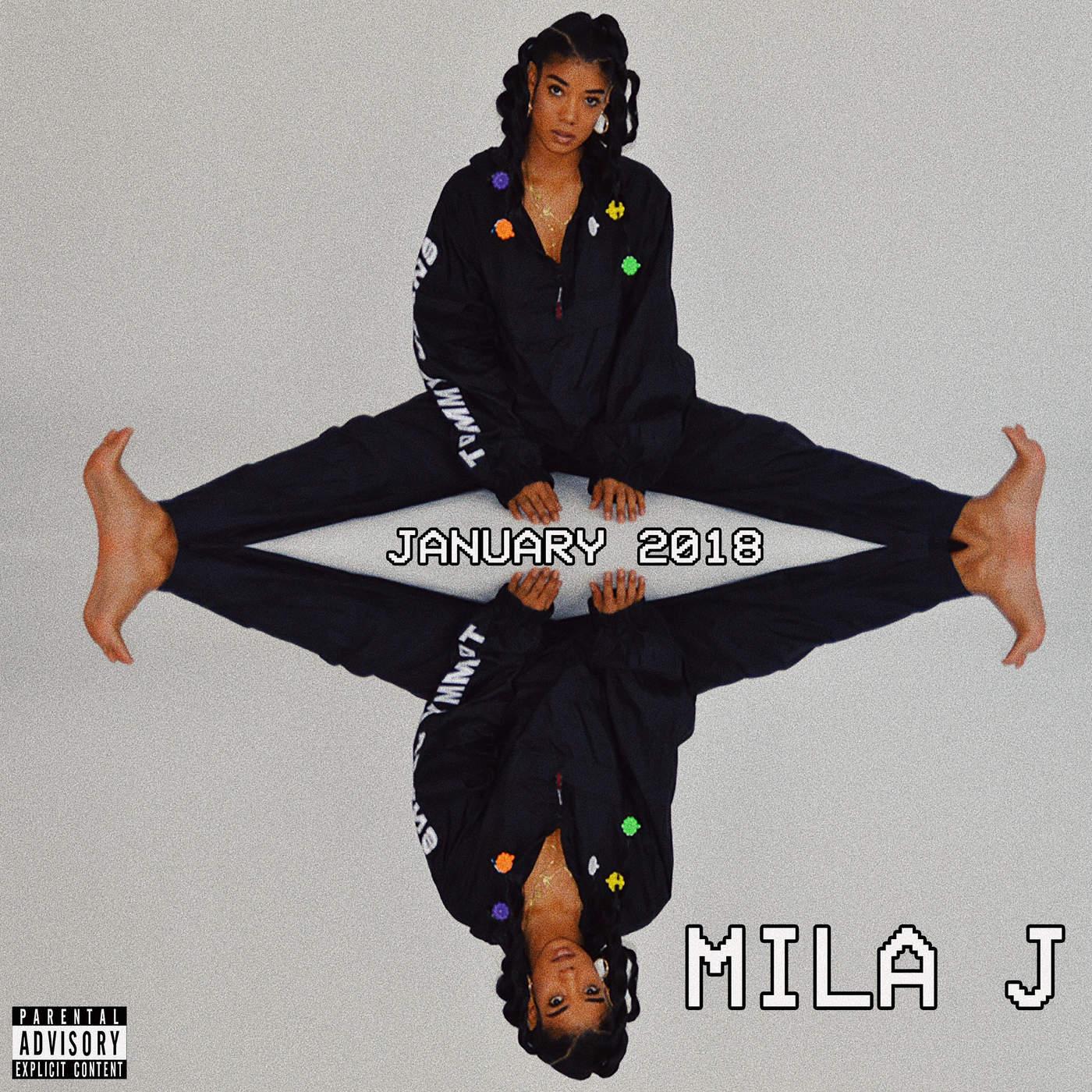 Mila J - January 2018 - EP Cover