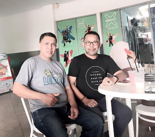 Foto Ketua Aliansi Jurnalistik Online Kota Makassar Bachtiar Adnan Kusuma