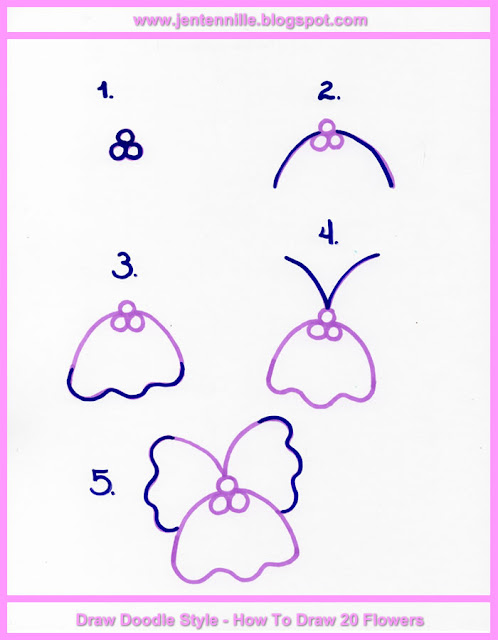 How To Draw 20 Flowers Kindle Book Preview