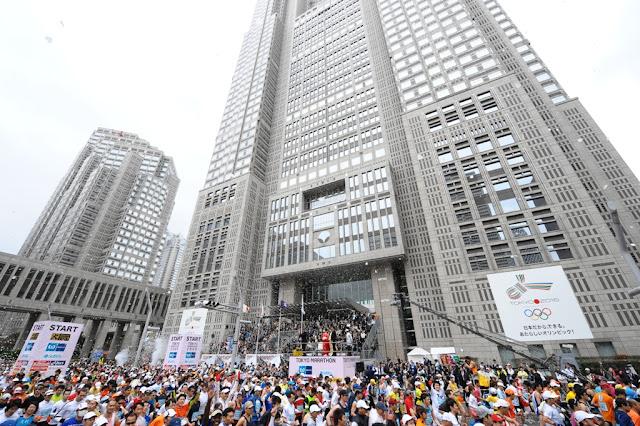 Tokyo Marathon 2017, Tokyo