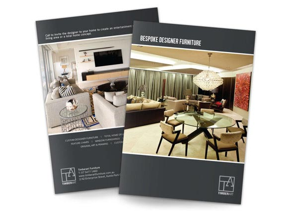 25 modern furniture catalogue brochure designs jayce o for Household furniture catalogue