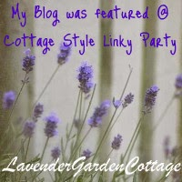 I was Featured - Cottage Style Party, December 3, 2013