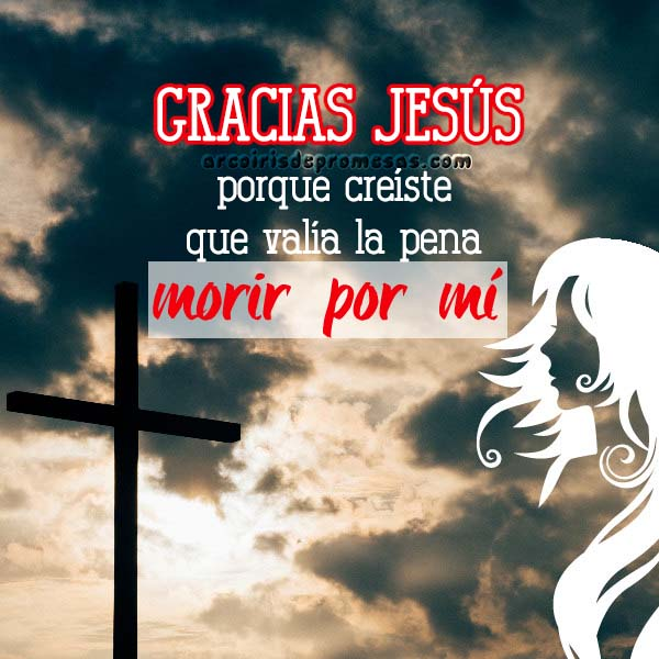 vales mucho para dios reflexiones cristianas con imágenes arcoiris de promesas