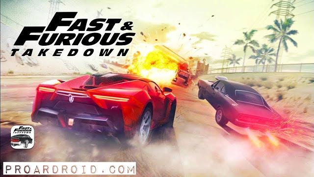 لعبة السباق Fast & Furious Takedown v1.1.51 نسخة كاملة للأندرويد logo