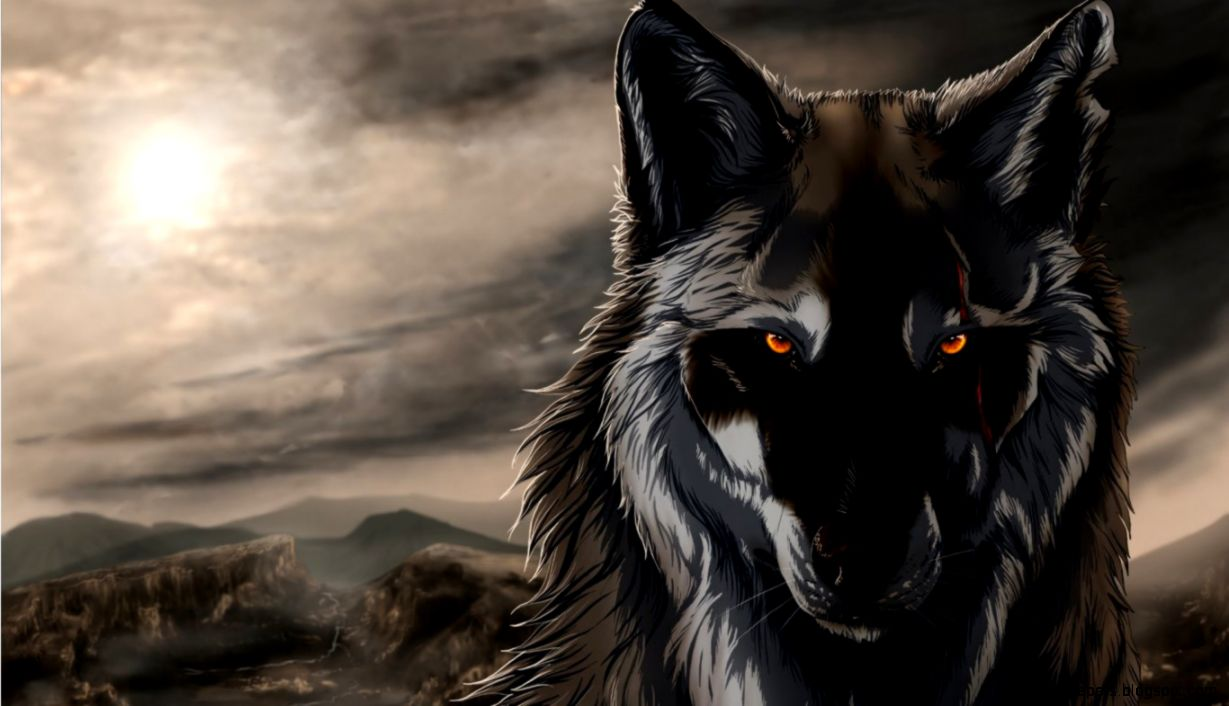 Anime Wolf Wallpaper Hd