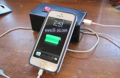 Cara Membuat Powerbank Sederhana Dari Baterai Plus Skema Rangkaian