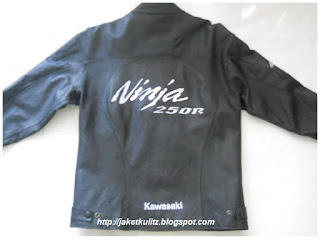 Gambar Jaket Kulit Ninja 250 R Original