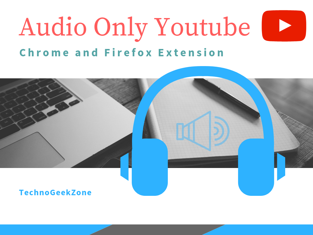 Play Only Audio from Youtube Videos | Only Audio Youtube Extension