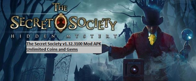 The Secret Society v1.32.3100 Mod APK Unlimited Coins and Gems