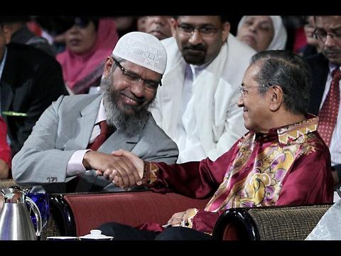 Mahathir Didesak Usir Ulama Zakir Naik dari Malaysia