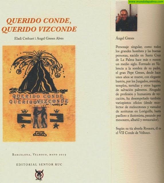 """Presentación del libro intitulado """"Querido Conde, Querido Vizconde"""" en Santa Cruz de La Palma"""