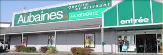 déstockage et magasin d'usine la Redoute