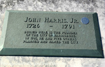 John Harris Jr. Historical Marker and Grave in Harrisburg, Pennsylvania