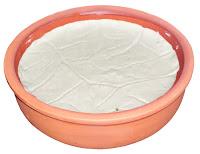 Yoğurt, çömlekte kaymaklı yoğurt