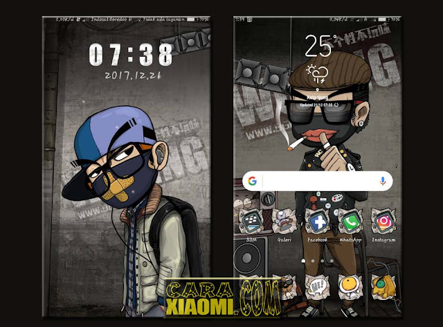 Xiaomi Theme Cool Boy Mtz For MIUI New Updated