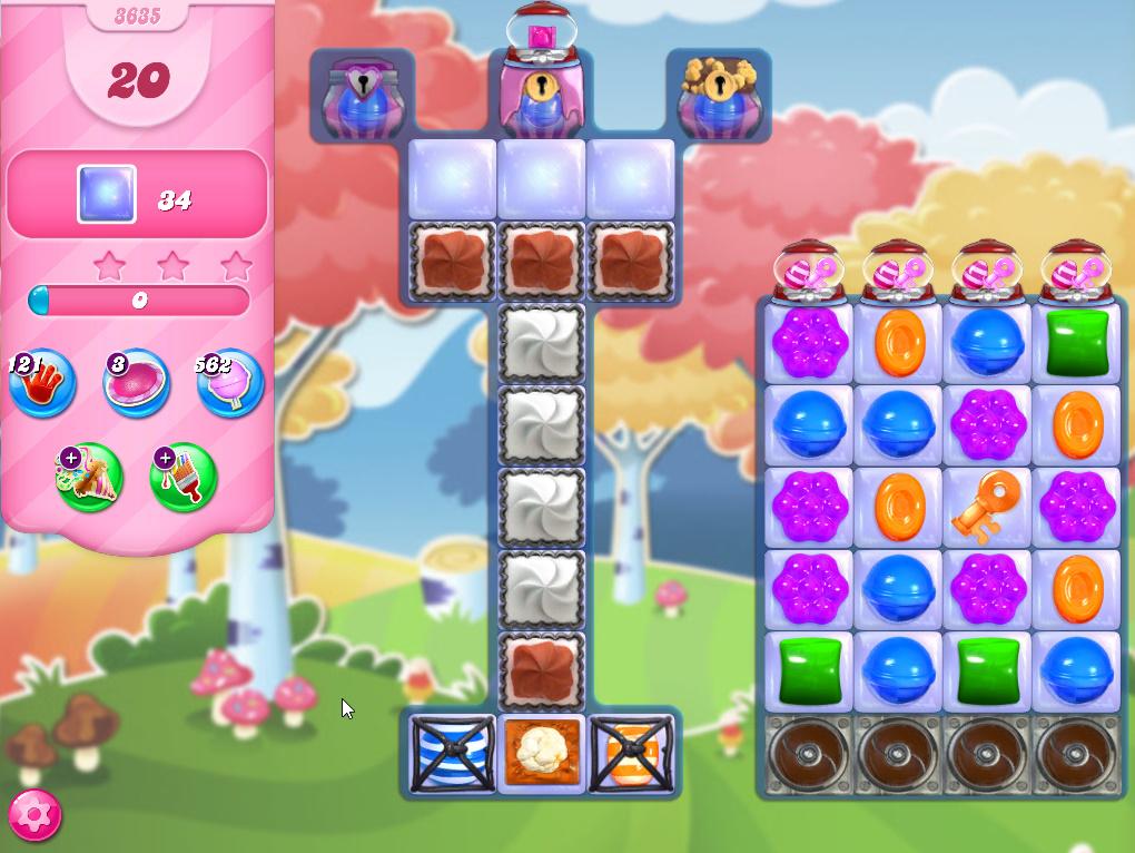 Candy Crush Saga level 3635