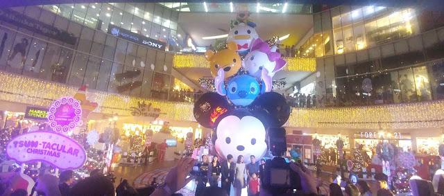Visit SM City North EDSA for the Biggest Disney's Tsum Tsum Christmas Tree