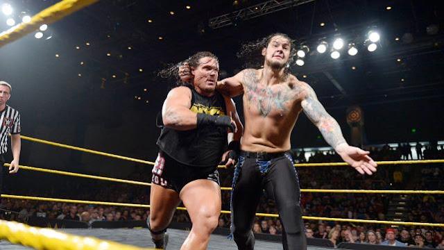 Baron Corbin Rhyno WWE NXT TakeOver Unstoppable
