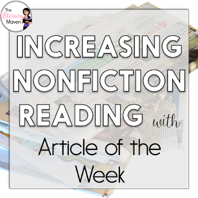 Nonfiction can easily get overlooked in favor of literature in ELA courses, so using article of the week is a great way to incorporate more nonfiction readings. This #2ndaryELA Twitter chat was all about implementing article of the Week. Middle school and high school English Language Arts teachers discussed how they implement article of the week in their classroom. Teachers also shared how they structure and mark student responses. Read through the chat for ideas to implement in your own classroom.