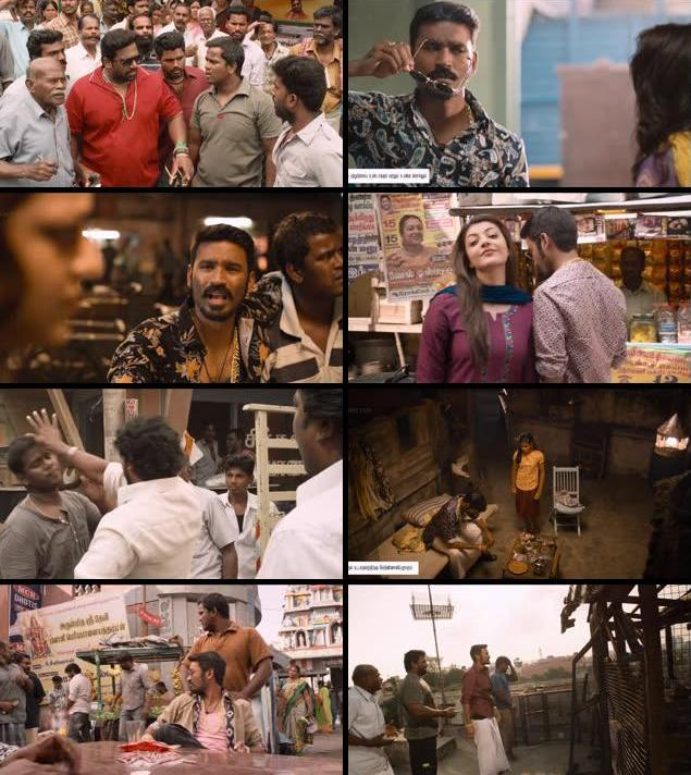 Maari 2015 UNCUT Dual Audio Hindi 480p HDRip