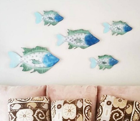 Metal Fish Art Gifts