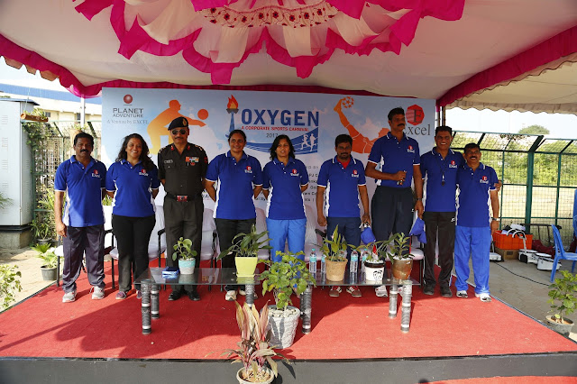 Excel's OXYGEN 2017 The Corporate Sports Carnival