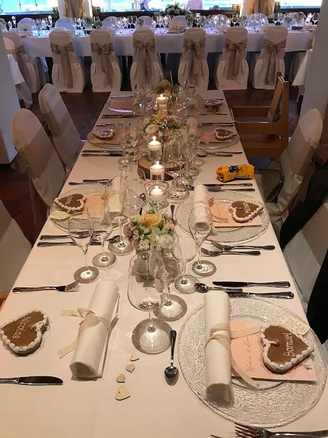 Hochzeitsdinner im Seehaus, London meets Garmisch-Partenkirchen, Sommerhochzeit im Vintage-Look in Bayern mit internationalen Hochzeitsgästen, Riessersee Hotel, Hochzeitsplanerin Uschi Glas
