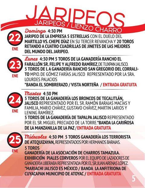 programa feria tamazula 2017