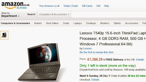 圖片說明: WTB 導引到 Amazon 產品銷售頁面