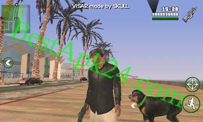 GTA San Andreas [GTA V] VISA 2 Apk + Mod v1.4 Free For Android 4