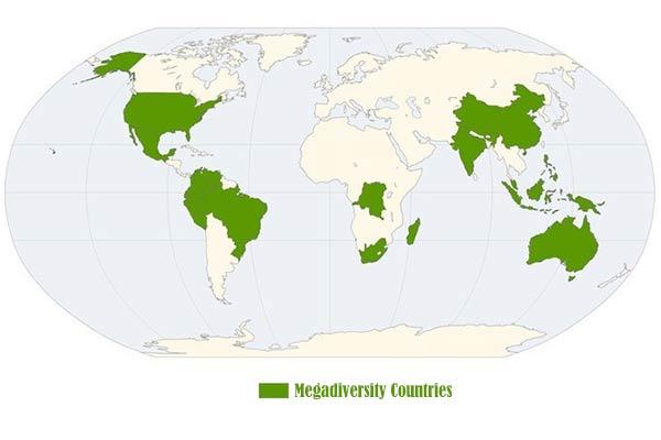 Megadiversity Countries
