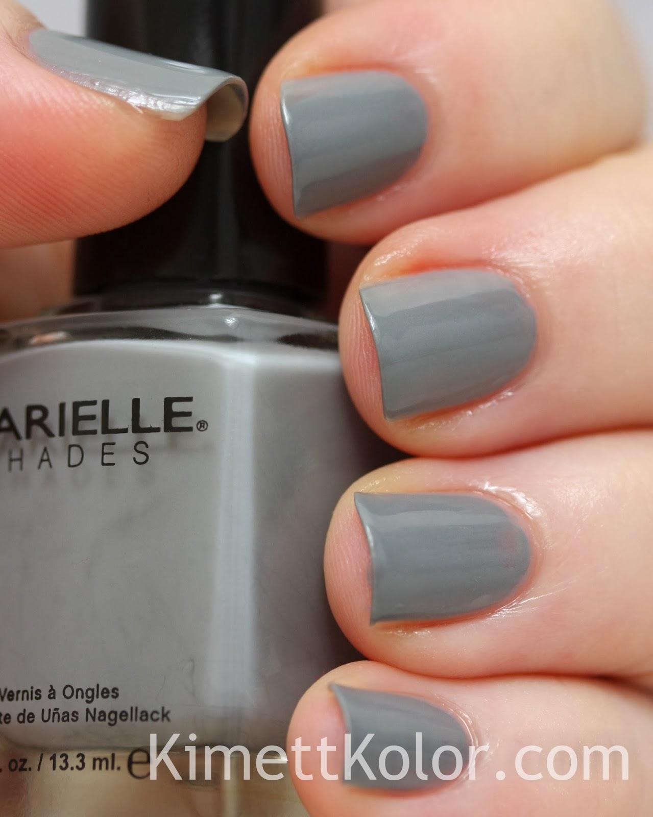 barielle U-Concrete Me grey nail polish