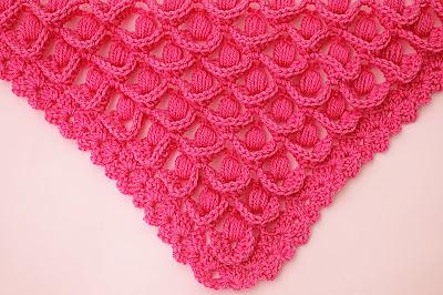 5 - Crochet IMAGEN Punto para chal muy fácil y sencillo. MAJOVEL CROCHET