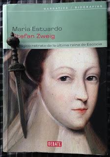 Portada del libro María Estuardo, de Stefan Zweig