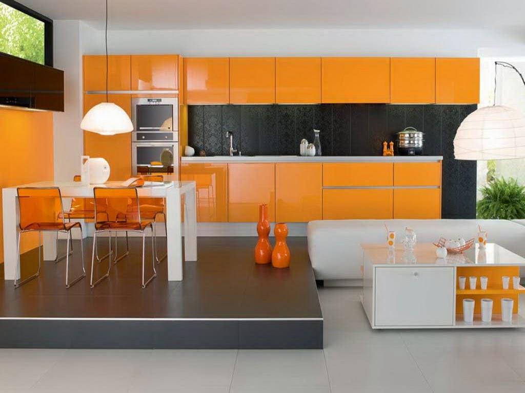 Baru 22 Desain Dapur Minimalis Ruangan Terbuka