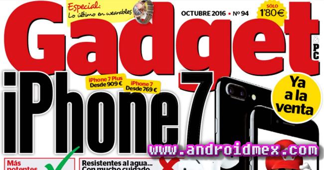 Gadget - Octubre 2016 - iPhone 7 banner