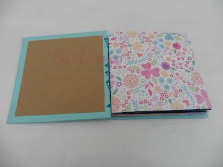 mini album coptic bookbinding encuadernación copta