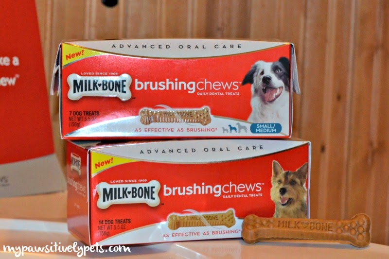 #MilkBone Brushing Chews for dogs