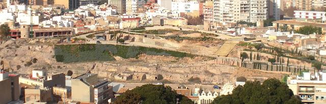 Cerro del Molinete. Cartagena. Murcia.