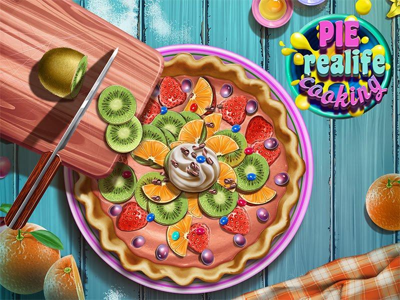لعبة الطبخ فطيرة الحياة الحقيقية