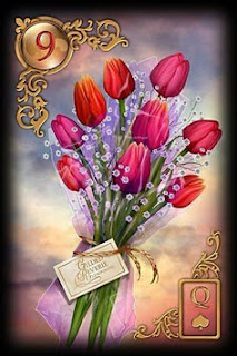 Lenormand, lenormand flowers, lenormand bouquet, lenormand oralce, lenormand combinations, petit lenormand Rohit anand