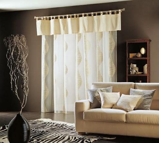 Cortinas de interiores modernos colores en casa for Lo ultimo en cortinas para dormitorios
