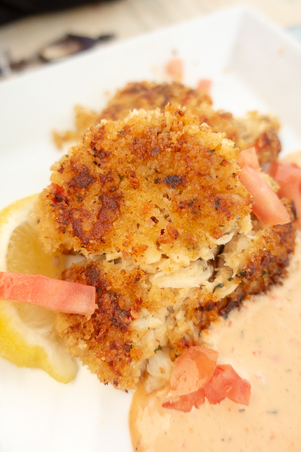 Crab Cakes - Harry's Bar and Grill - St. Augustine, FL