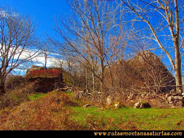 Ruta Requexón Valdunes, la Senda: Cabaña en la Forcada