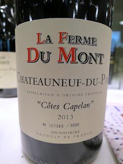 La Ferme Du Mont Châteauneuf-du-Pape Côtes Capelan 2013 (92 pts)