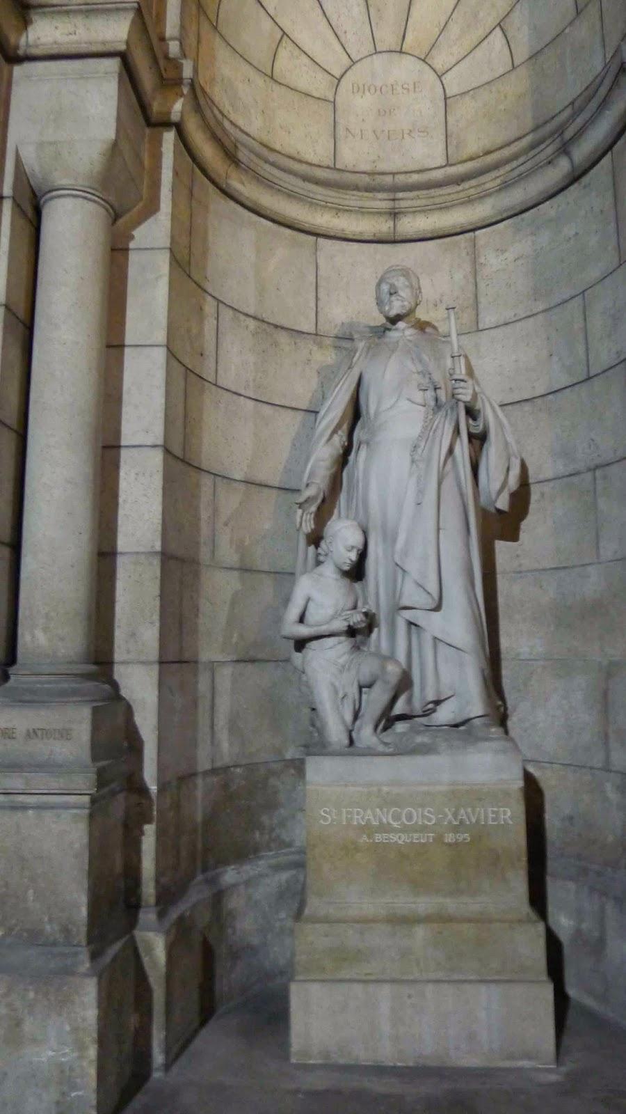 Sacre Coeur Crypt Francis Xavier