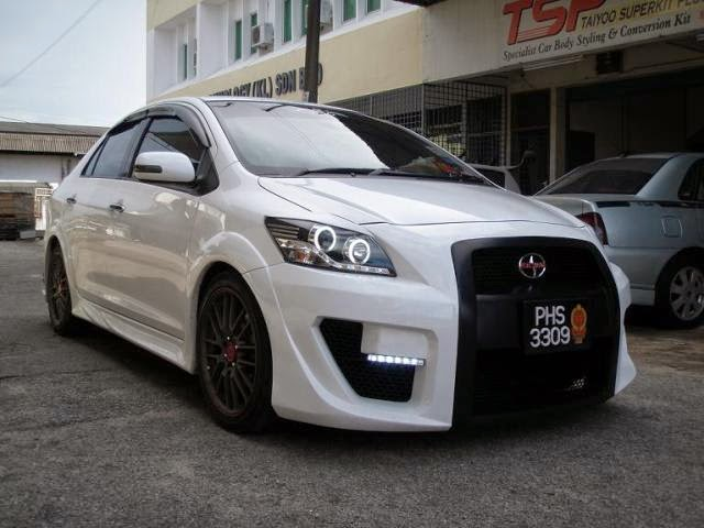 Modifikasi Toyota Vios Elegant Sporty