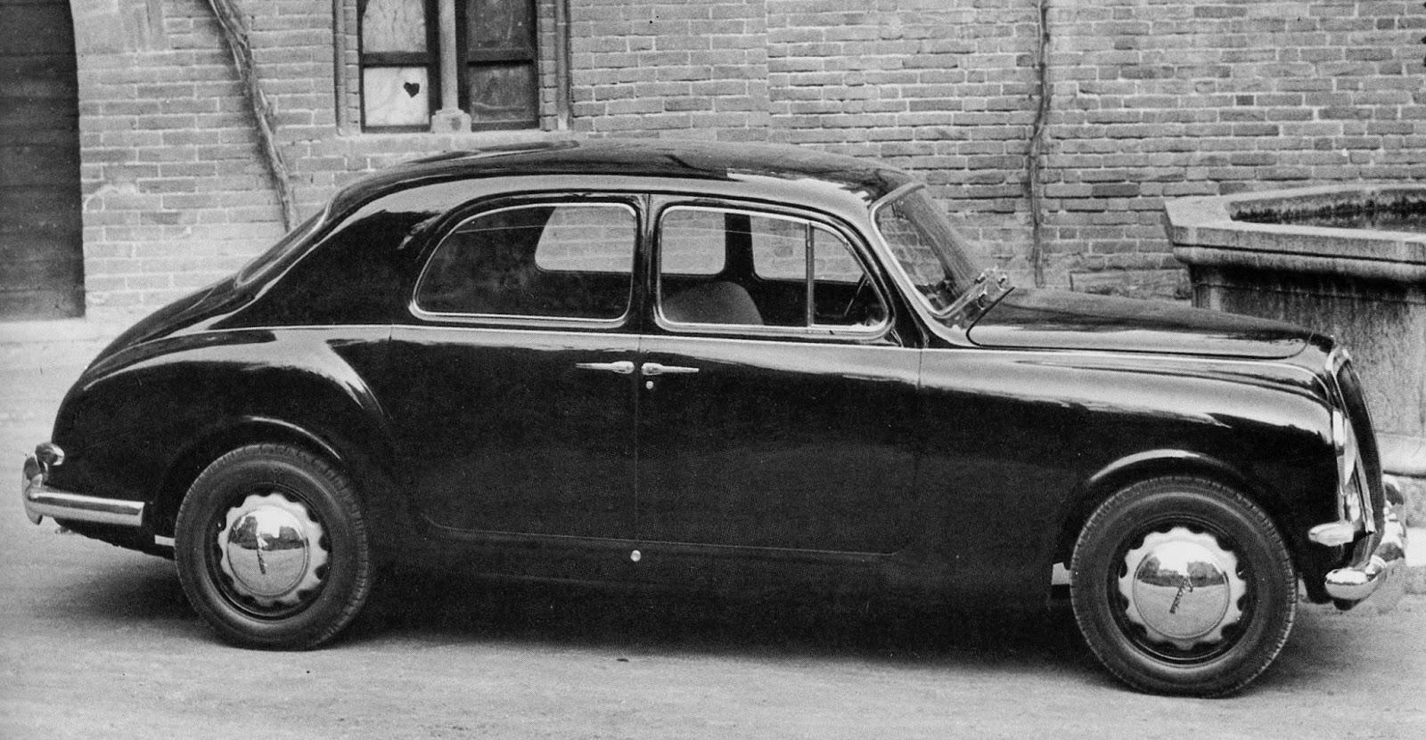 Car Style Critic: Lancia Aurelia Berlina