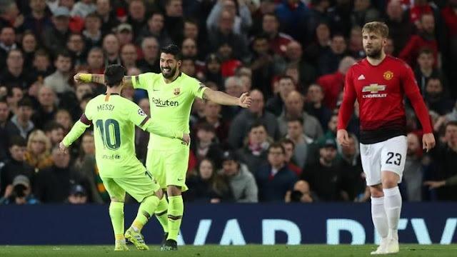 Hasil Liga Champions: Barcelona Kalahkan MU 1-0 di Old Trafford